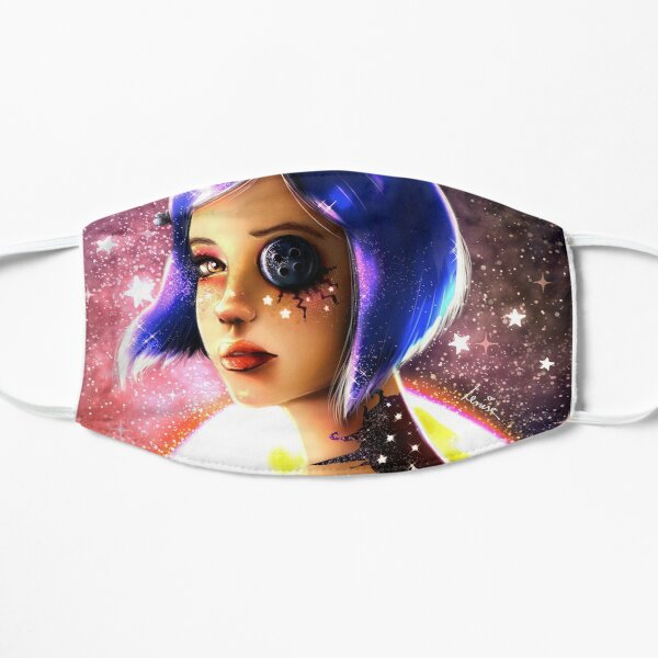 Coraline Movie Face Masks Redbubble