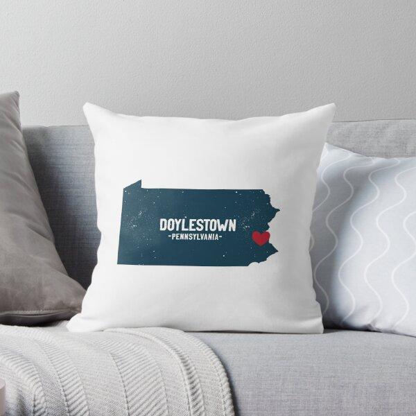 doylestown, pennsylvania Throw Pillow