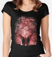 Famous Hunters Women's Fitted Scoop T-Shirt