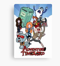 Adventure Time-Lord 11  Canvas Print