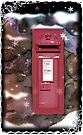 Traditional Red Post Box Christmas design { version 2 } by Grant Wilson