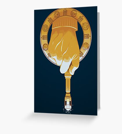 HAND OF THE DOCTOR Greeting Card