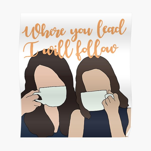 Gilmore Girls Posters Redbubble