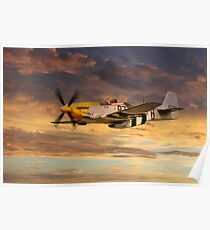 P-51 Ferocious Frankie Poster