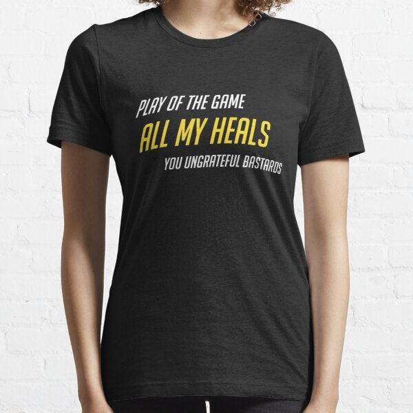 Salty Support Main/Healer Essential T-Shirt