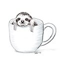 Sloth in a Cup by itssabbyg