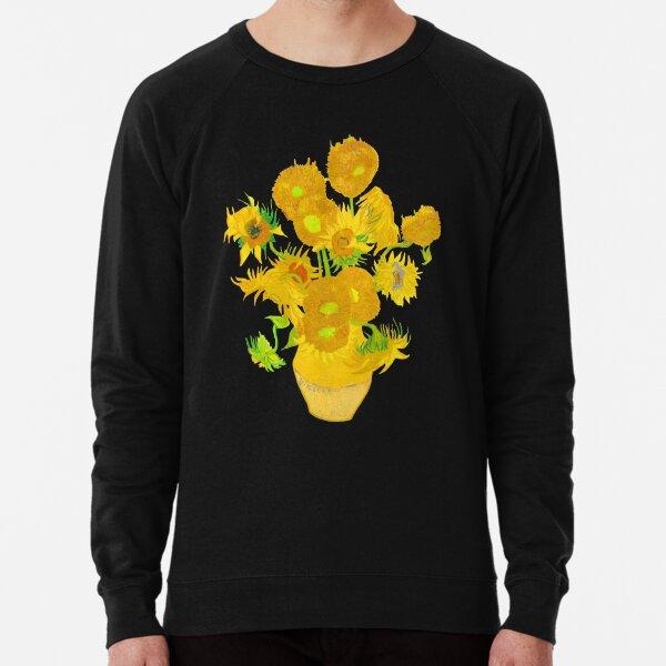 Van Gogh - Sunflowers Lightweight Sweatshirt