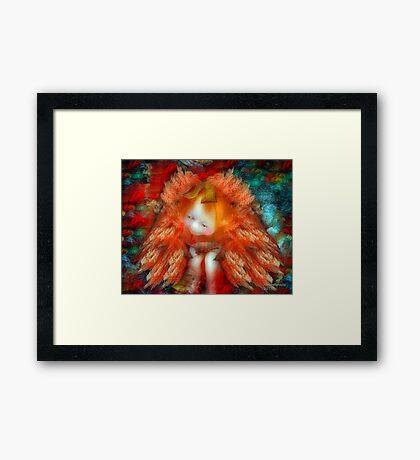 Angelic Troll  Framed Print