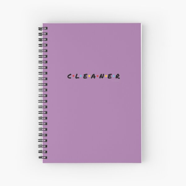 CLEANER - Funny Cleaning Shirts and Gifts Spiral Notebook