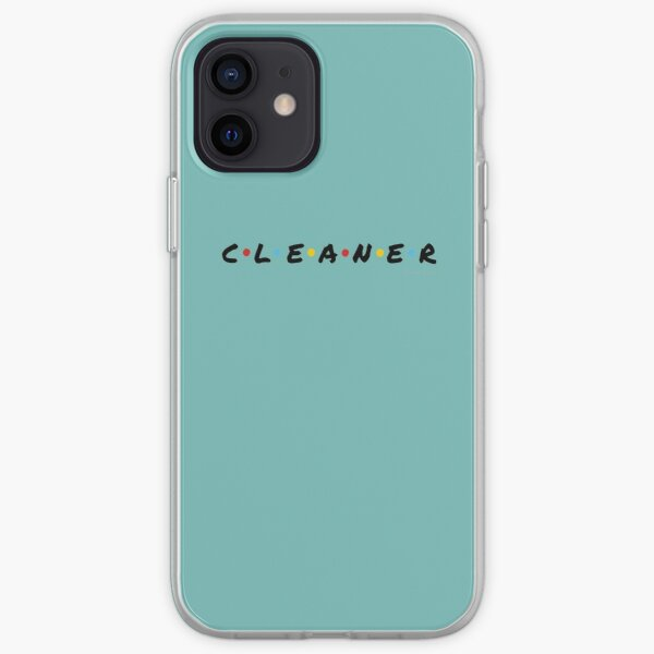 CLEANER - Funny Cleaning Shirts and Gifts iPhone Soft Case