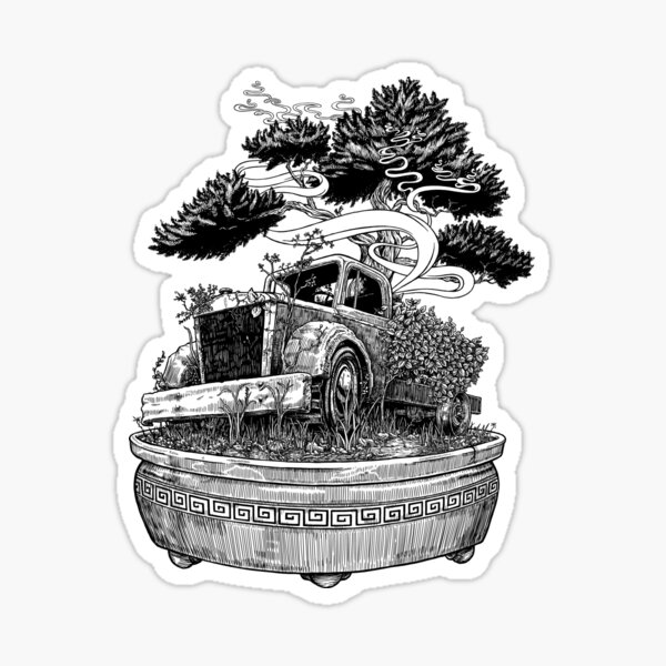 Bonsai Truck Sticker