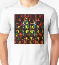 Colorful Abstract Collage Unisex T-Shirt