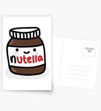 Nutella Jar Postcards