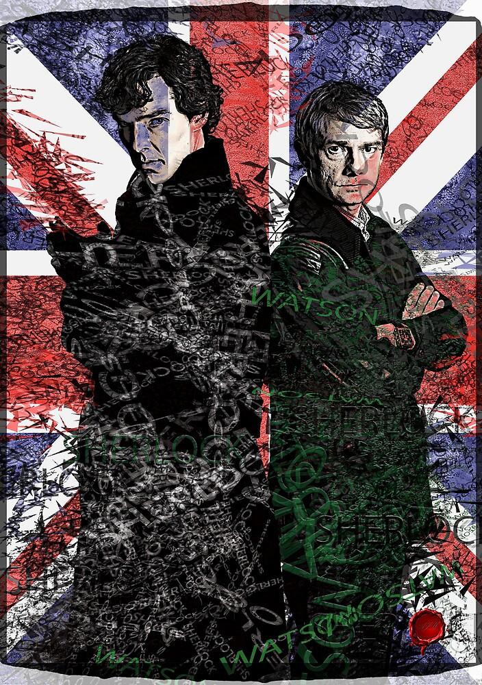 Sherlock & Watson by Andre Martin