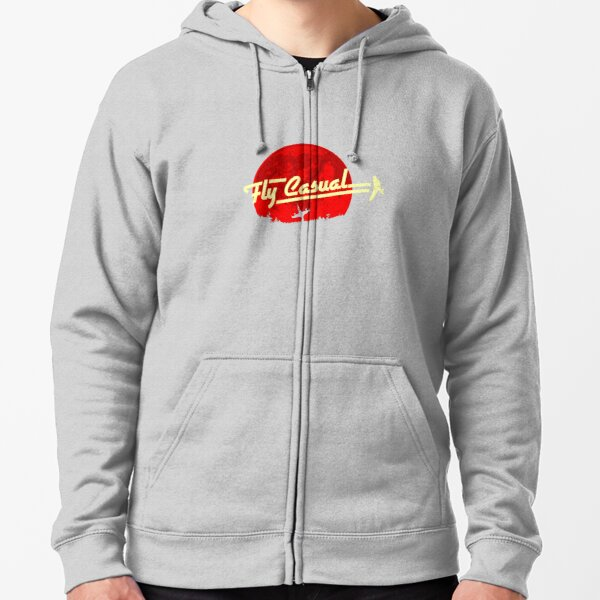 Fly Casual Zipped Hoodie