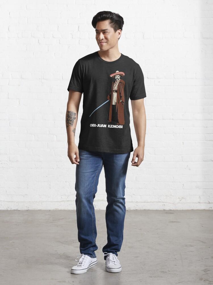 Alternate view of Obi-Juan Kenobi Essential T-Shirt