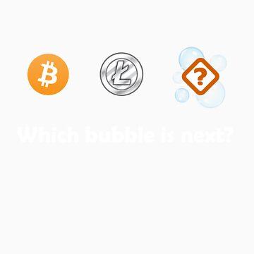 Bitcoin, Litecoin, Bubble by Koniii
