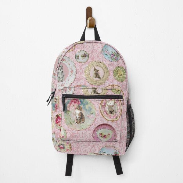 Witchcraft School Kitten & Cat Plates on Umbridge Lace Backpack