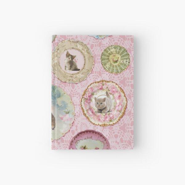 Witchcraft School Kitten & Cat Plates on Umbridge Lace Hardcover Journal
