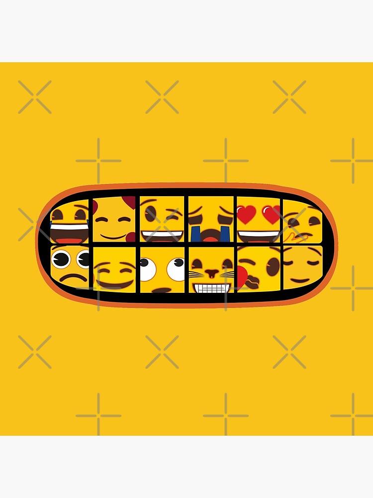 Toothy emoji smile by DesignsByDB