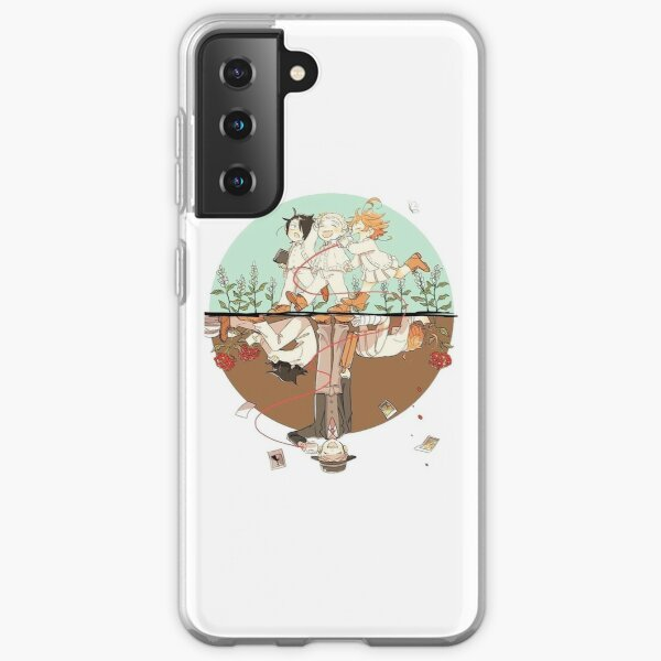 Dos mundos -  The Promised Neverland Funda blanda para Samsung Galaxy