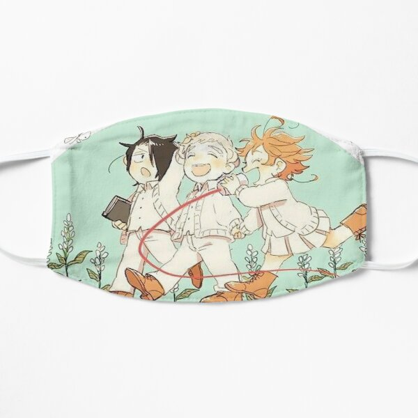 Two Worlds -  The Promised Neverland Flat Mask