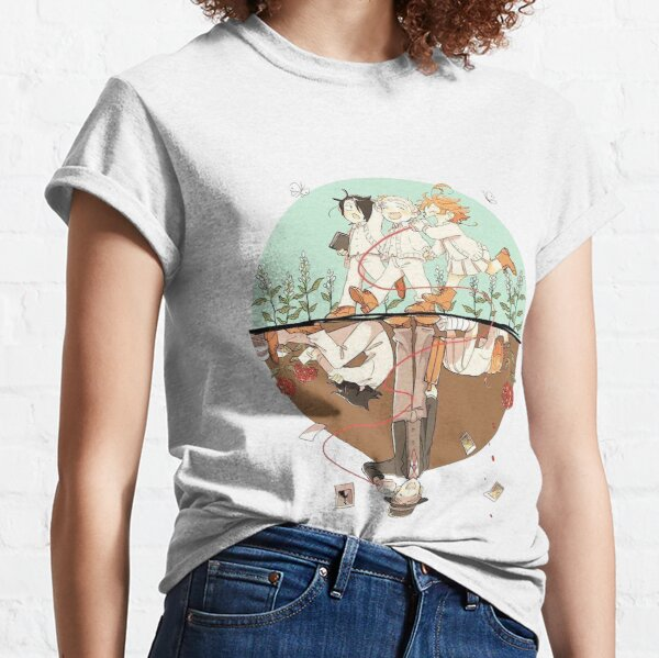 Two Worlds -  The Promised Neverland Classic T-Shirt