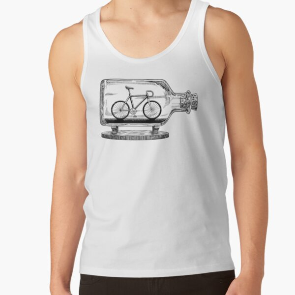 Bike in a Bottle Tank Top
