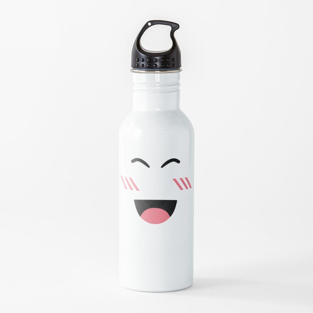 Roblox super super happy face Water Bottle