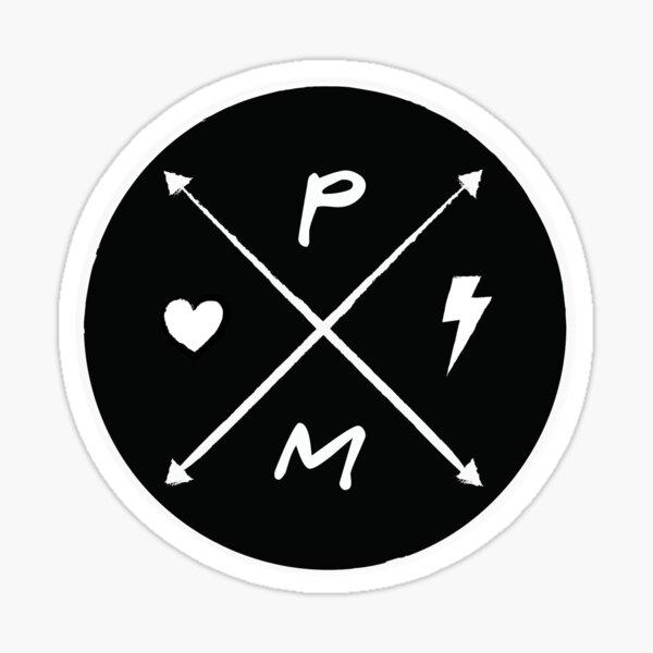 Hearts and Bolts Logo Sticker