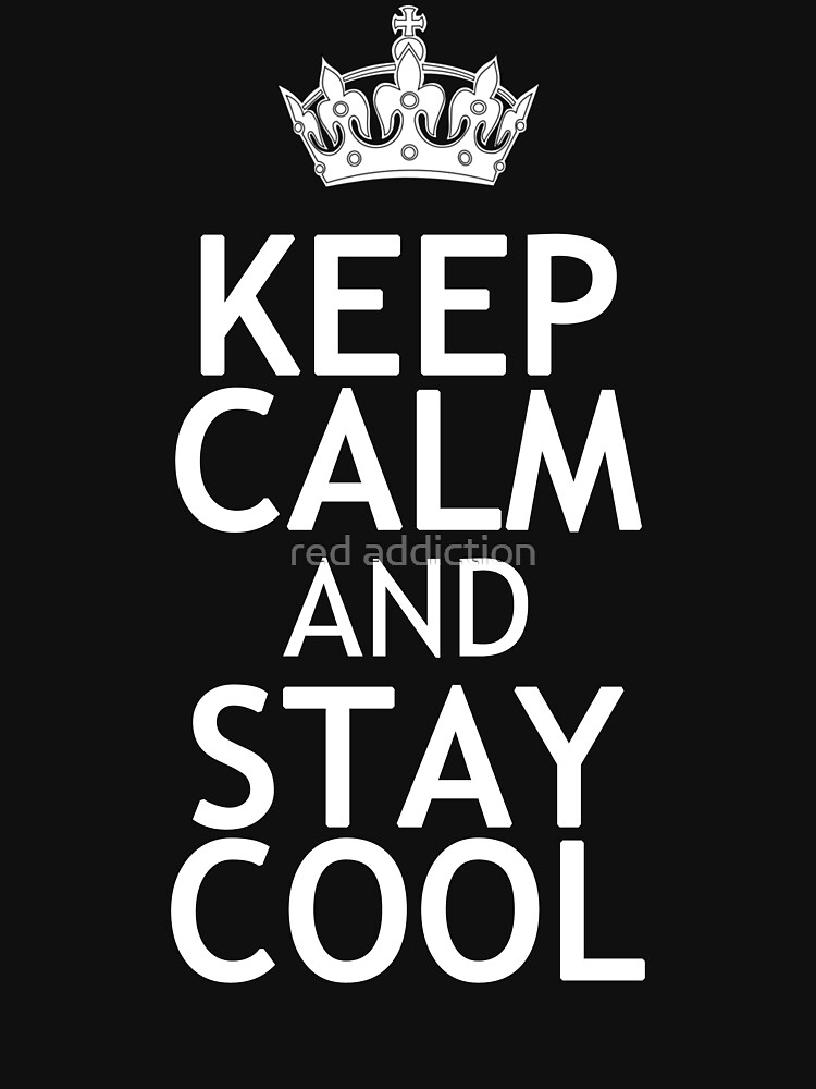 how to become cool and calm