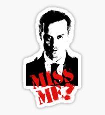 Sherlock - Miss Me (Moriarty) Sticker