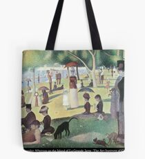 Georges Seurat - A Sunday on La Grande Jatte Tote Bag