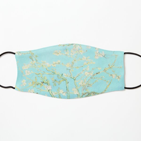 Vincent Van Gogh Almond Blossoms Aquamarine Kids Mask