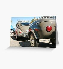 vintage vw cruiser Greeting Card