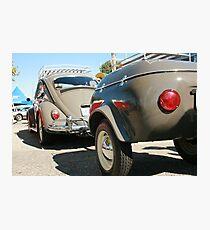 vintage vw cruiser Photographic Print