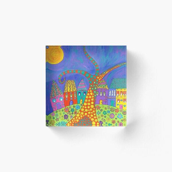 Moonshine Acrylic Block