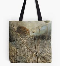 Winter in the Meadow Tote Bag