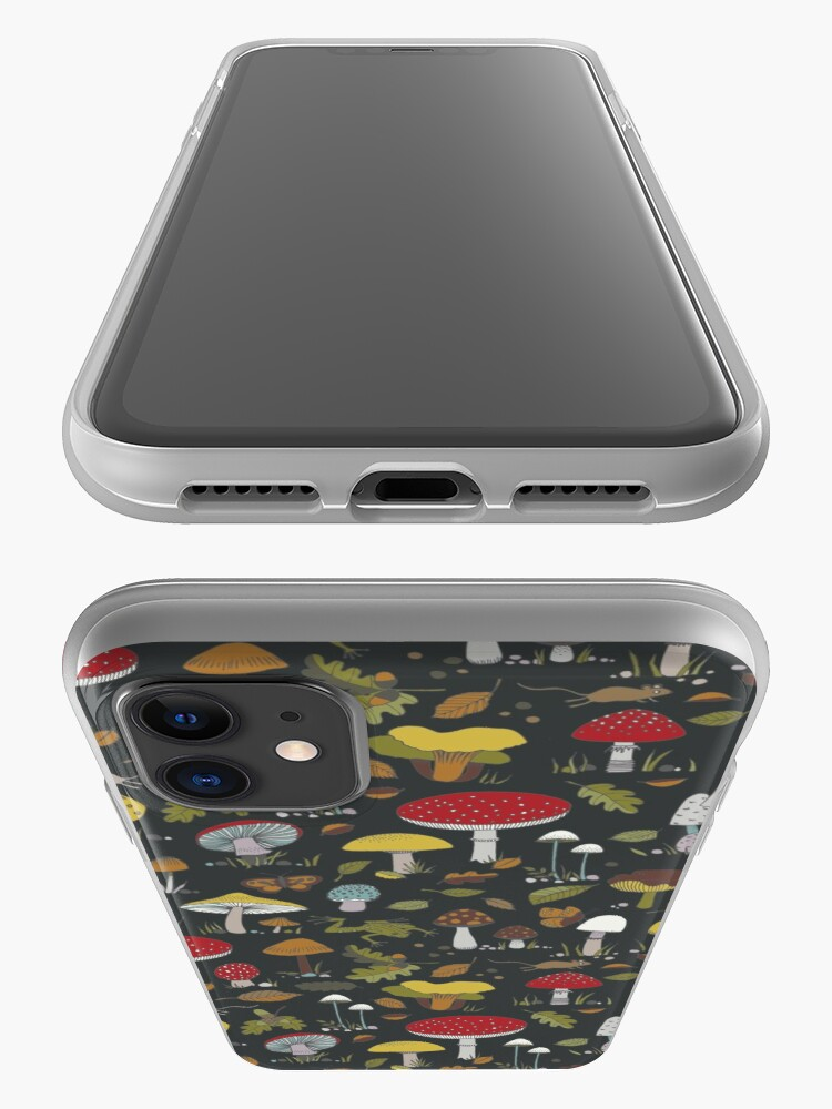 Alternate view of Forest Floor - fun fungus pattern by Cecca Designs iPhone Case & Cover