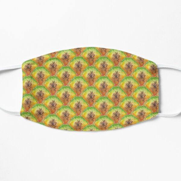 Pure Pineapple Pattern Flat Mask