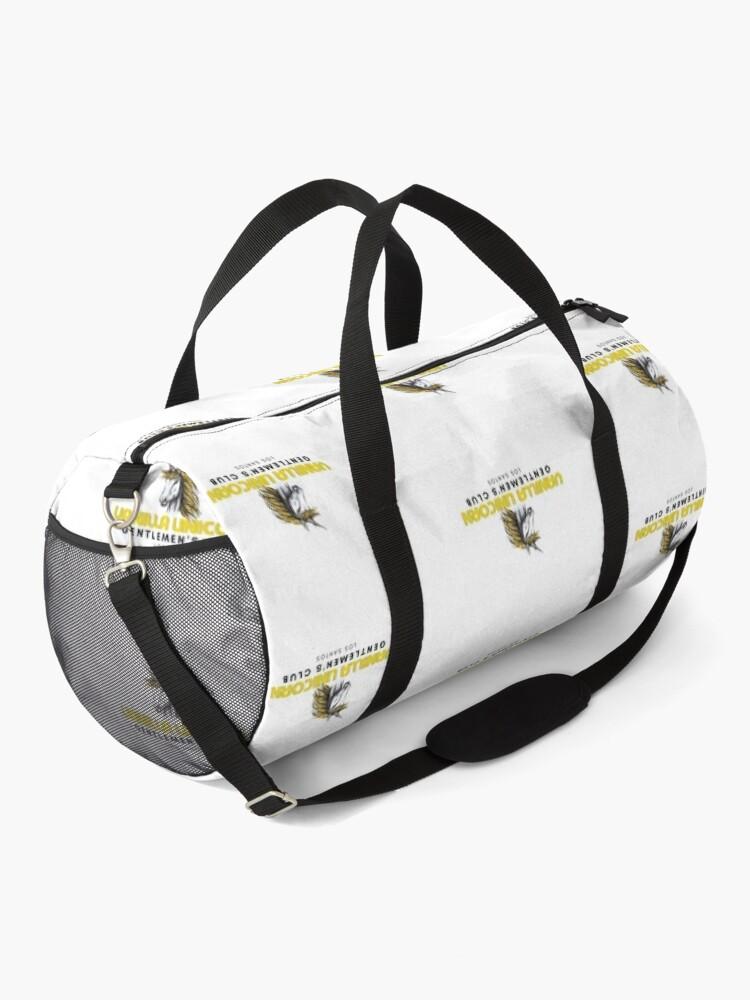 Alternate view of Vanilla Unicorn Gentlemen's Club  Duffle Bag