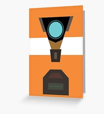 Claptrap Greeting Card
