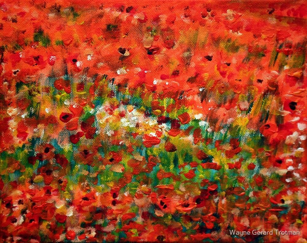 Poppies #2 by Wayne Gerard Trotman
