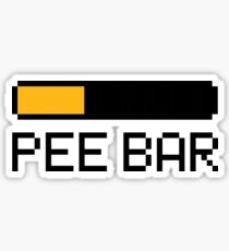 Pee Bar Sticker