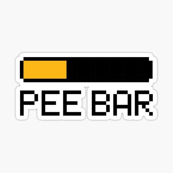 Pee Bar Sticker