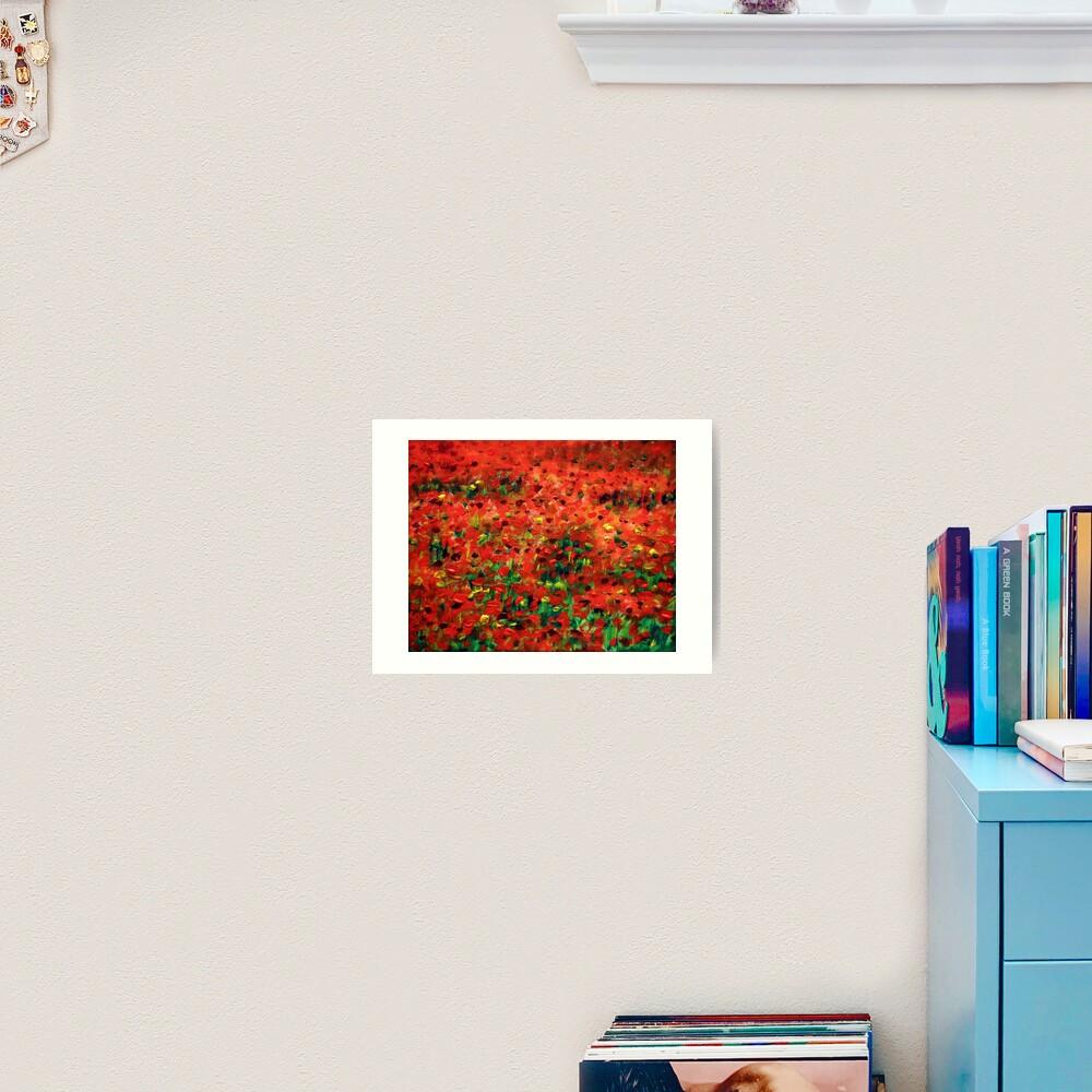 Poppies #1 Art Print