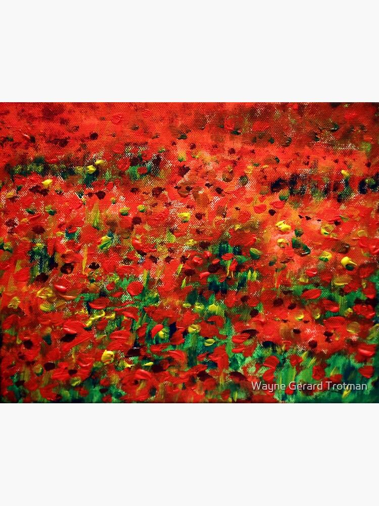 Poppies #1 by redmoondragon
