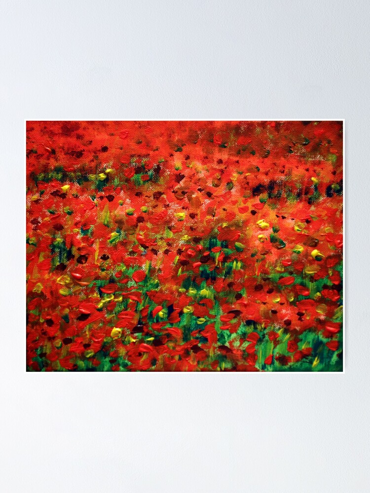 Alternate view of Poppies #1 Poster