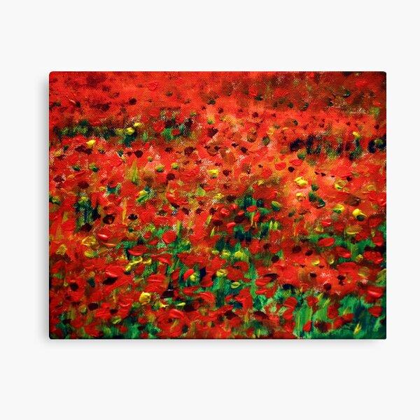 Poppies #1 Canvas Print