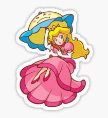 Prinzessin Peach! - Schwimmend Sticker